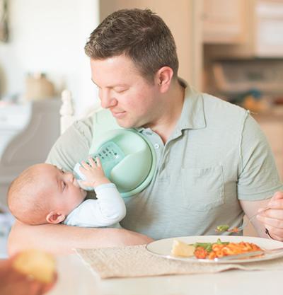 Free Hand Baby Bottle Holder