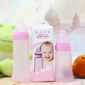 "The ""aMACEing"" Child-Proof Baby Bottle"