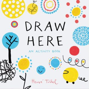 Draw Here Book Cover