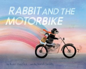 Rabbit and the Motorbike Cover